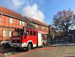 Brand im Schachmuseum - Kulturgut gerettet - OB Henke dankt Rettungs-kräften