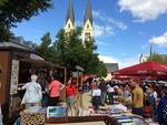 Großer Bücherflohmarkt zum Fest der Sinne auf dem Domplatz [(c) Stefanie Zilz]
