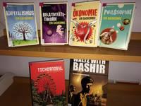 Lesenswerte (Sach-)Comics und Graphic Novels findet ihr in der Schülerbibliothek [(c) Stefanie Zilz]
