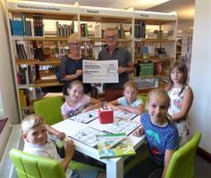 Kleine Lernroboter bereichern die Bibliothek [(c): Stadtbibliothek Halberstadt]
