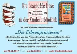 Schauspielerin Lisa Marie Liebler liest für Kinder ab 5 Jahren vor