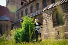 Cosplayer vor der Liebfrauenkirche [(c) Florian Hartmann]