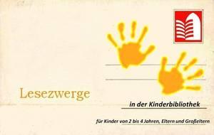 Lesezwerge - Vorlesestunde für die Allerkleinsten [(c): Stadt Halberstadt]
