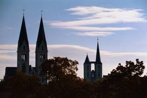 Blick zum Dom und Martinikirche [(c): Stefanie Hahn]