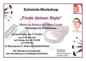 """Workshop """"Make-up Basics"""""""