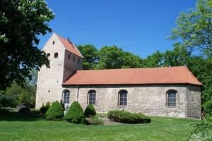 Die evangelische Kirche in  Klein Quenstedt