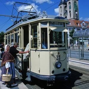 Stadtrundfahrt mit der historischen Straßenbahn (Paul Schäfer)
