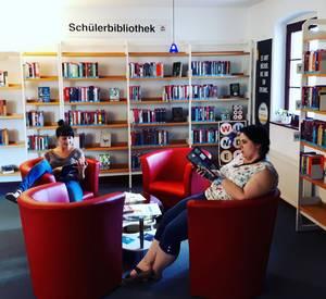 Ein gemütlicher Bereich zum Lesen, Lernen und Entspannen für Euch [(c): Anne Michel]