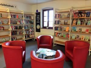 Ein gemütlicher Bereich zum Lesen, Lernen und Entspannen für Euch [(c): Stefanie Zilz]