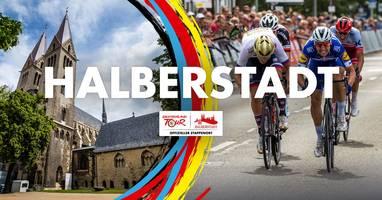 Halberstadt - Erstes Etappenziel der Deutschlandtour 2019