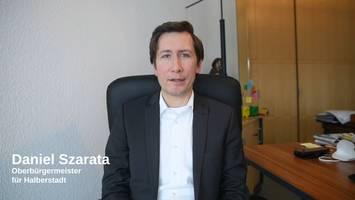 Vorschaubild der Videobotschaft zur aktuellen Wetterlage ©Stadt Halberstadt