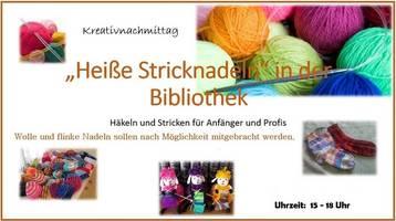 Heiße Nadeln in der Bibliothek [(c): Stadt Halberstadt]