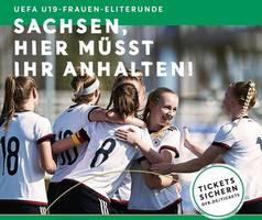 Turnierplakat: UEFA-U19-Frauen-Eliterunde