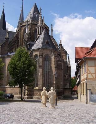 Dom und Gleimhaus in Halberstadt