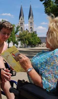 Stadtrundgang für Rollstuhlfahrer