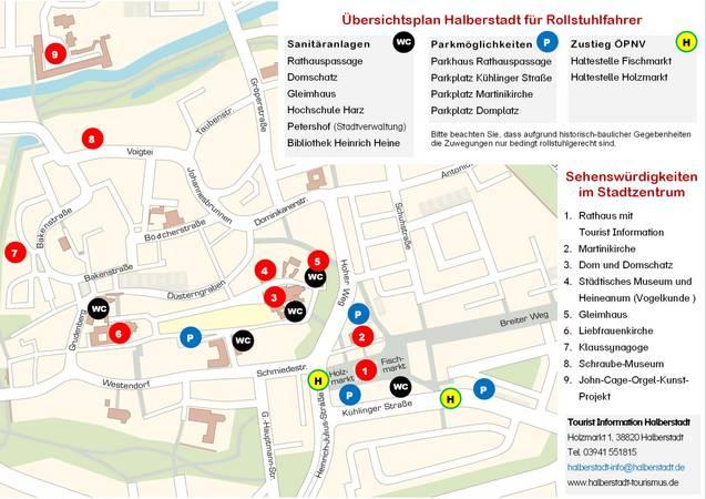 [(c): Tourist Information Halberstadt]