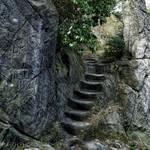 Höhlenwohnungen Treppe [(c) Stefan Herfurth]