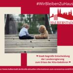 Erlass der Kita-Gebühren [(c) Stadt Halberstadt, Neue Medien]