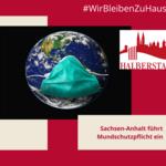 Mundschutzpflicht [(c) Stadt Halberstadt, Neue Medien]