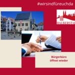 Öffnung Bürgerbüro [(c) Stadt Halberstadt, Neue Medien]