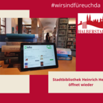 Öffnung der Stadtbibliothek Heinrich Heine [(c) Stadt Halberstadt, Neue Medien]