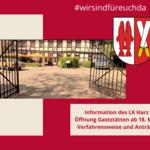 Verfahrensweise Öffnung Gaststätten ab 18. Mai [(c) Stadt Halberstadt, Neue Medien]
