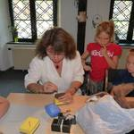 Sommerferienaktion 2011 - Filzen mit Frau Wolle