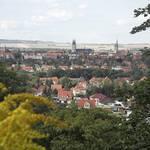5. Parkfest im Landschaftspark Spiegelsberge - Ansicht von Halberstadt Foto: Juergen Geelhaar