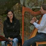 Der Sommer ist da - musikalische Lockrufe auf der Harfe, HARFE: Sören Wendt, GESANG: Eileen Schmidt  - Foto: Peter Windhövel