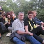 Publikum am Belvedere  Foto: Jeannette Schroeder