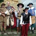 Räuberbesuch zum Parkfest in den Spiegelsbergen bei Halberstadt