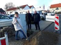 Start des Breitbandausbaus der gewerbegebiete in Halberstadt