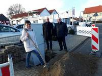 Breitband-Planungen sind abgeschlossen, jetzt wird gegraben! 100 Mbit synchron – Start des Ausbaus der Gewerbegebiete Halberstadt