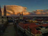 Blick über Halberstadt