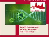 Coronavirus - aktuelle Informationen der Stadt Halberstadt