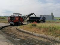 Bauarbeiten für Anbindung des IG – Ost gestartet