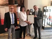 Auszeichnung für Service und Qualität - Erneut Q-Siegel für Tourist Infor-mation Halberstadt