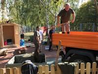 Spiegel-Grundschule bekommt einen Schulgarten
