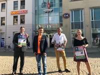 In der Innenstadt shoppen und dabei den Lieblingsverein unterstützen - Rathauspassagen starten HeimatSponsor in Halberstadt