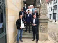 """Ministerium fördert kostenfreies WLAN in Halberstadt / Wünsch: """"Wertet Innenstadt auf"""""""