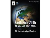 Earth Hour feiert am 19. März 2016 ihr 10jähriges Bestehen - Halberstadt macht mit bei weltweiter Klimaschutzaktion