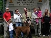 Tiertaufe bei einem vergangenen  Tiergartenfest.