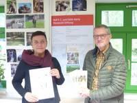 Manteufelstiftung stellt Projekte für Tiergarten und Rotmilanzentrum vor