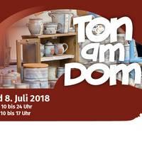 Ton am Dom Keramik, Kunst und Köstlichkeiten im Schatzjahr 2018