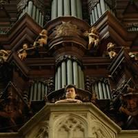 Orgel im Dom zu Halberstadt - Domkantor Claus-Erhard Heinrich