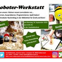 Roboter-Werkstatt
