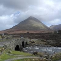 Steinbrücke auf der Isle of Skye, Sliachan