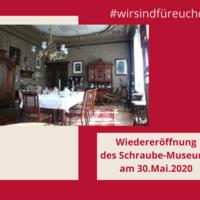 Wiedereröffnung des Schraube-Museums
