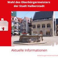 Wahl des Oberbürgermeisters der Stadt Halberstadt 2020