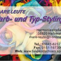 Farb- und Typstyling mit Mare B. Leute